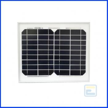 Сонячна батарея 10Вт 12В / ECS-10M / монокристалічна