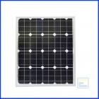 Сонячна батарея 50Вт 12В / ECS-50M / монокристалічна