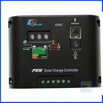 Фотоэлектрический контроллер заряда EPHC10-EC (10А, 12/24Vauto, ручное On/Off)