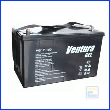 Аккумулятор 12В 100А*ч / VG 12-100 / Ventura / GEL