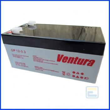 Акумулятор 12В 3,3А*ч / GP 12-3,3 / Ventura / AGM