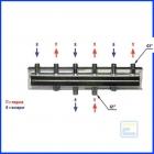 Распределительный коллектор HV60/125-4 (2 м3 /ч - 50 кВт)