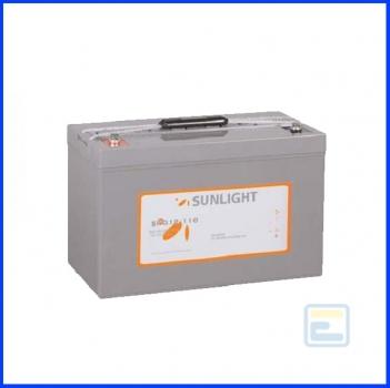Аккумулятор 12В110А*ч / SPG 12-110 / Sunlight / GEL