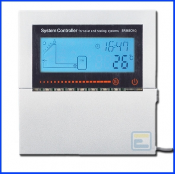 Сонячний контролер для геліосистем під тиском СК868C9Q