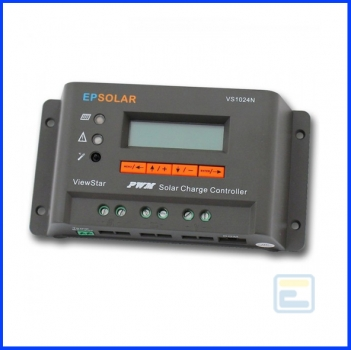 Фотоэлектрический контроллер заряда ViewStar VS2024N (20А, 12/24Vauto, PWM, LCD, программируемый)