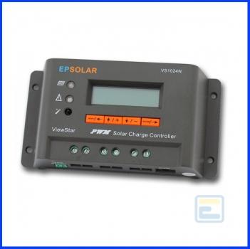Фотоэлектрический контроллер заряда ViewStar VS3048N (30А, 12/24/48Vauto, PWM, программируемый)