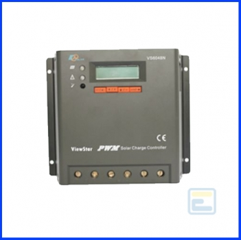 Фотоэлектрический контроллер заряда ViewStar VS5048N (50А, 12/24/48Vauto, PWM, программируемый)